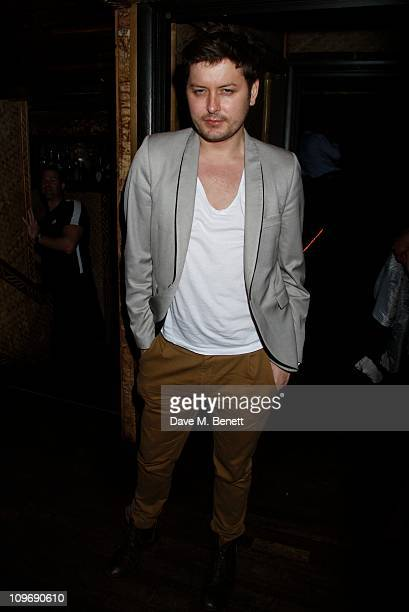 Brian Dowling attends Alexandra Burke's End of Tour Party hosted by Ciroc Vodka at Mahiki on February 24 2011 in LondonEngland