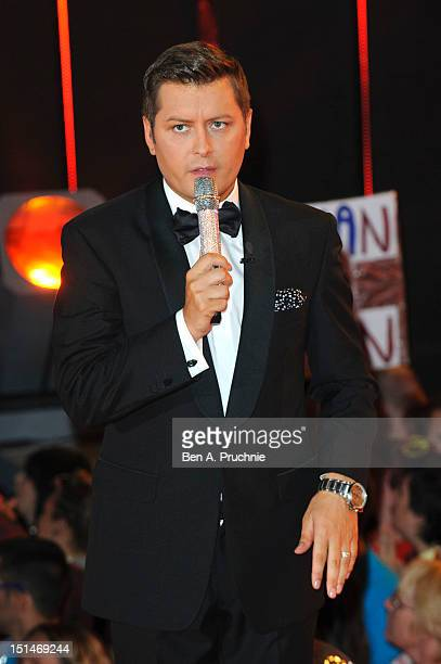 Brian Dowling attends the Celebrity Big Brother House on the final night at Elstree Studios on September 7 2012 in Borehamwood England