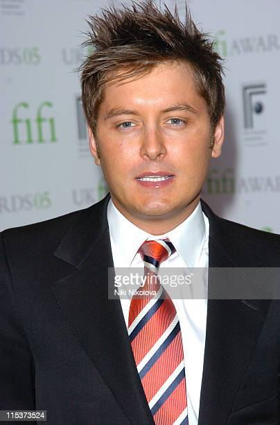 Brian Dowling during 2005 UK FiFi Awards Inside Arrivals at The Dorchester in London Great Britain