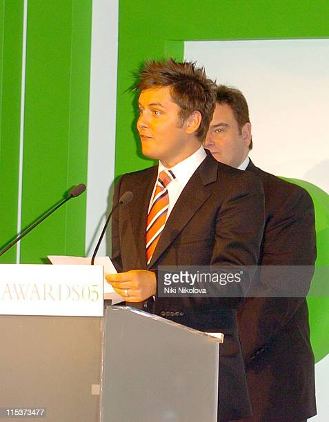Brian Dowling during 2005 UK FiFi Awards Show at The Dorchester in London Great Britain