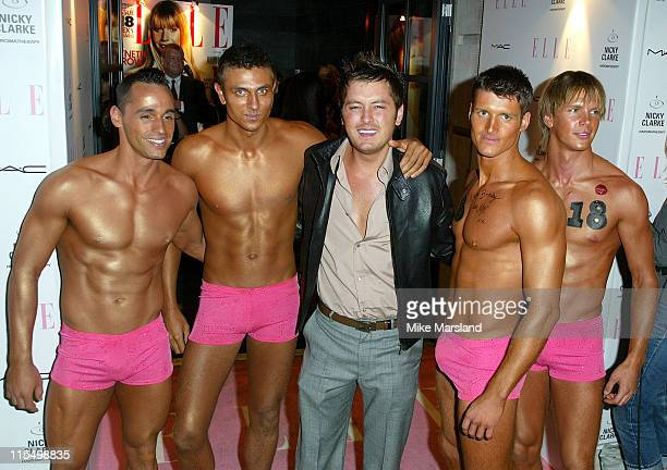 Brian Dowling during Elle's 18th Birthday Party at Mint Leaf in London United Kingdom