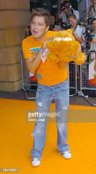 Brian Dowling during 'Garfield The Movie' London Charity Premiere Arrivals at Liecester Square Vue Cinema in London Great Britain