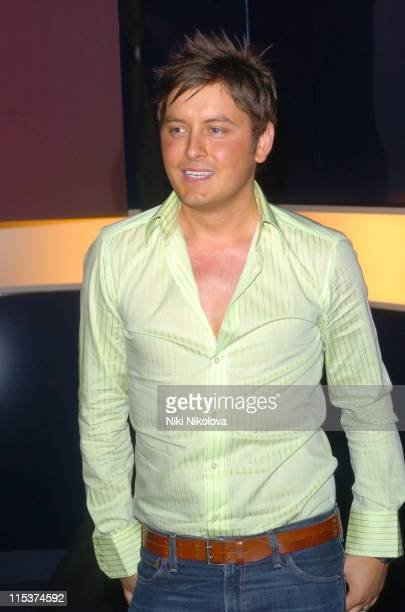 Brian Dowling during 'Hell's Kitchen 2' Day 13 Arrivals at Atlantis Building Brick Lane in London Great Britain