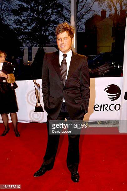 Brian Dowling during The Irish Film and Television Awards 2004 Arrivals at The Burlington Hotel in Dublin Ireland