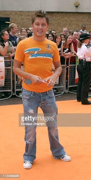 Brian Dowling during The UK Charity Premiere Of 'Garfield the Movie' Arrivals at Liecester Square Vue Cinema in London Great Britain