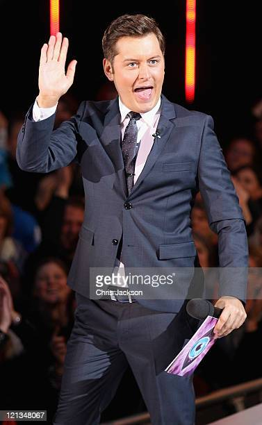 Brian Dowling Presents Big Brother at Elstree Studios on August 18 2011 in Borehamwood England