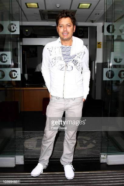 Brian Dowling sighted outside BBC Radio One on September 11 2010 in London England