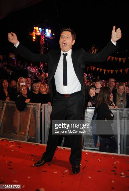 Brian Dowling wins of the Ultimate Big Brother Final on September 10 2010 in Borehamwood England
