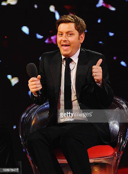 Brian Dowling wins the final of Ultimate Big Brother on September 10 2010 in Borehamwood England