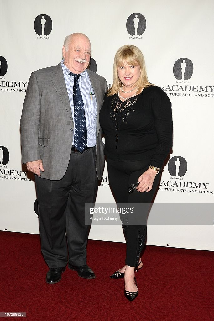 Brian Doyle-Murray and Colleen Camp attend the Academy of Motion Picture Arts and Sciences hosts a 'Wayne's World' reunion at AMPAS Samuel Goldwyn Theater on April 23, 2013 in Beverly Hills, California.