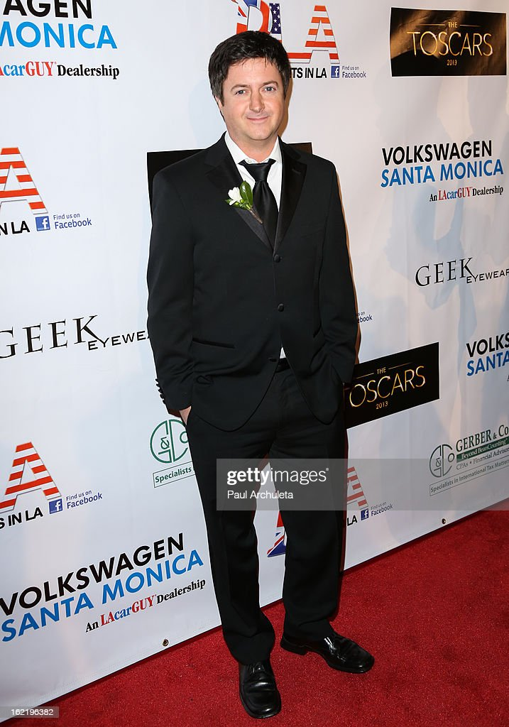 <a gi-track='captionPersonalityLinkClicked' href=/galleries/search?phrase=Brian+Dunkleman&family=editorial&specificpeople=832076 ng-click='$event.stopPropagation()'>Brian Dunkleman</a> attends the 6th annual Toscar Awards at the Egyptian Theatre on February 19, 2013 in Hollywood, California.