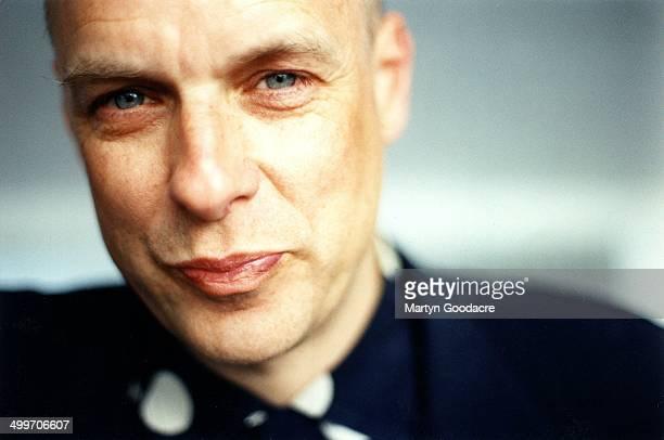 Brian Eno portrait United Kingdom 1998