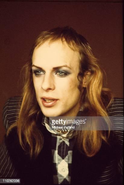 Brian Eno Roxy Music portrait London 2nd March 1973