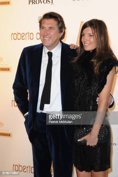 Brian Ferry and attend ROBERTO CAVALLI 40th Anniversary Event CONTACT SIPA PRESS FOR SALES at Les BeauxArts de Paris on September 29 2010 in Paris...