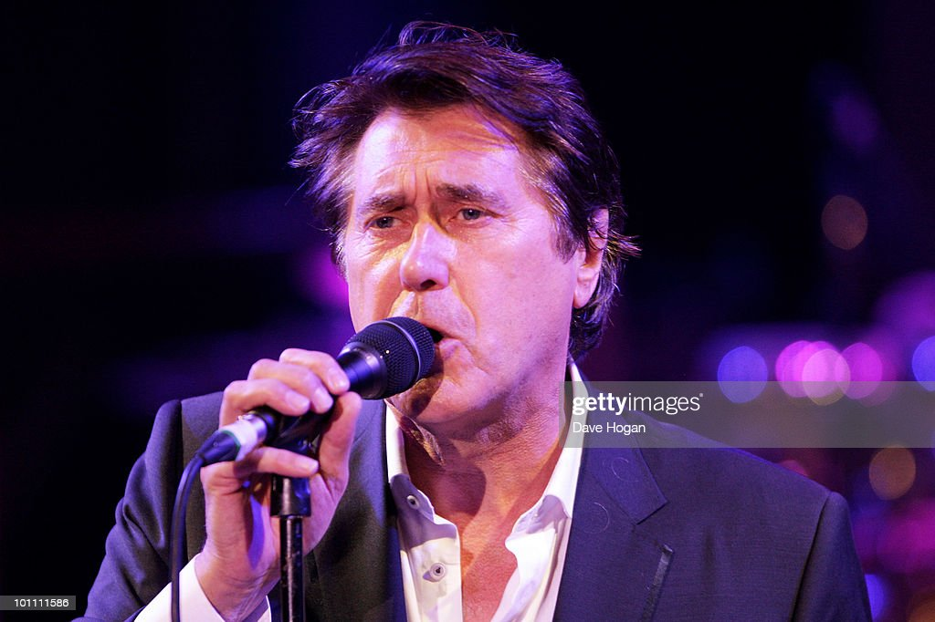 Brian Ferry attends the Keep A Child Alive Black Ball at held at St John's, Smith Square on May 27, 2010 in London, England.