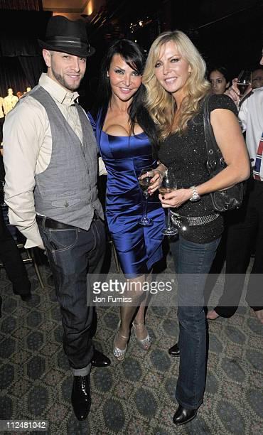 Brian Freidman Lizzie Cundy and Sue Moxley attend launch of 32 limited edition designs from Grosvenor Shirts for the 2010 FIFA World Cup in South...