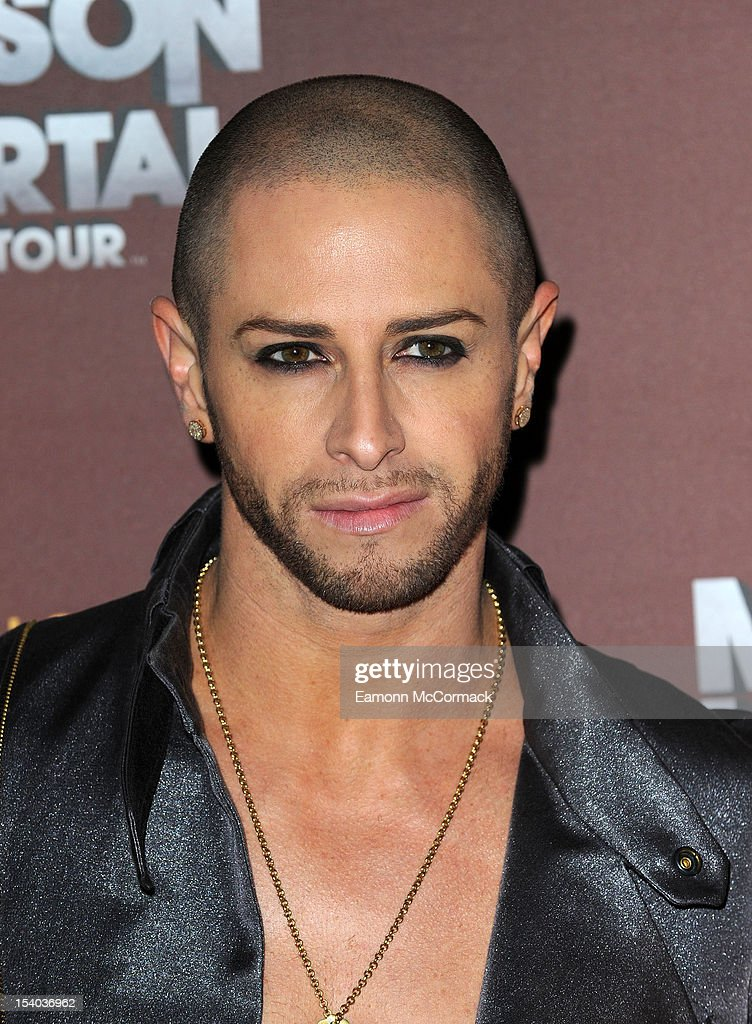 <a gi-track='captionPersonalityLinkClicked' href=/galleries/search?phrase=Brian+Friedman&family=editorial&specificpeople=675568 ng-click='$event.stopPropagation()'>Brian Friedman</a> attends the opening night of Cirque Du Soleil's 'Michael Jackson The Immortal World Tour' at 02 Arena on October 12, 2012 in London, England.
