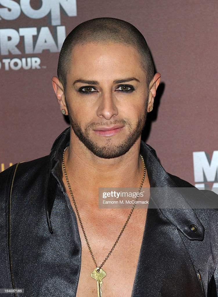 <a gi-track='captionPersonalityLinkClicked' href=/galleries/search?phrase=Brian+Friedman&family=editorial&specificpeople=675568 ng-click='$event.stopPropagation()'>Brian Friedman</a> attends the opening night of Cirque Du Soleil's 'Michael Jackson: The Immortal World Tour' at 02 Arena on October 12, 2012 in London, England.