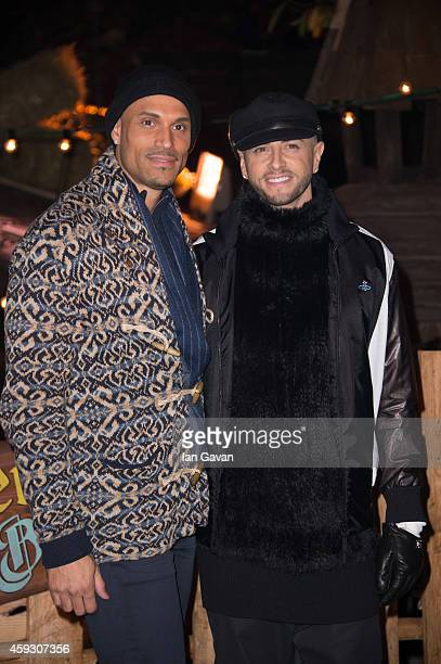 Brian Friedman attends the Winter Wonderland VIP opening at Hyde Park on November 20 2014 in London England