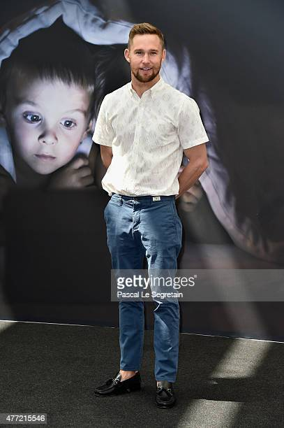 Brian Geraghty attends a photocall for the 'Chicago PD' TV series on June 15 2015 in MonteCarlo Monaco