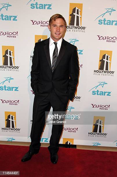 Brian Geraghty during Hollywood Film Festival 10th Annual Hollywood Awards Arrivals at The Beverly Hilton Hotel in Beverly Hills California United...