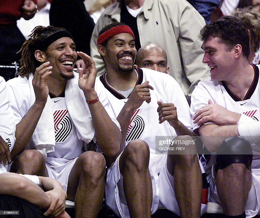 Brian Grant L Rasheed Wallace C and Arvydas