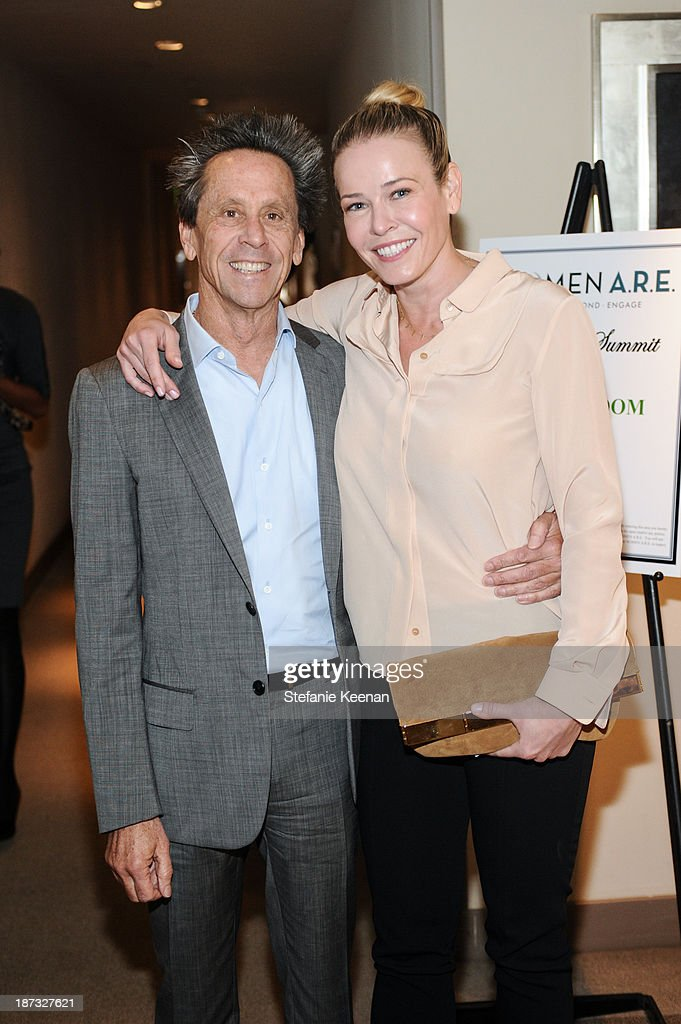<a gi-track='captionPersonalityLinkClicked' href=/galleries/search?phrase=Brian+Grazer&family=editorial&specificpeople=203009 ng-click='$event.stopPropagation()'>Brian Grazer</a> and <a gi-track='captionPersonalityLinkClicked' href=/galleries/search?phrase=Chelsea+Handler&family=editorial&specificpeople=599162 ng-click='$event.stopPropagation()'>Chelsea Handler</a> attend WOMEN A.R.E Inaugural Summit Presented By PANDORA at SLS Hotel on November 7, 2013 in Beverly Hills, California.