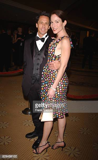 Brian Grazer and wife Gigi Levangie arrive at the 54th annual Directors Guild of America Awards