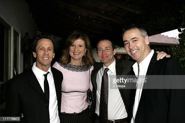 Brian Grazer Arianna Huffington and Richard Lovett