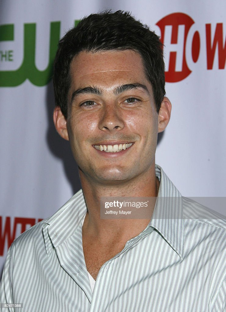 Brian Hallisay arrives at the CBS, CW & Showtime Press Tour Stars Party at Boulevard 3 on July 18, 2008 in Hollywood, California.