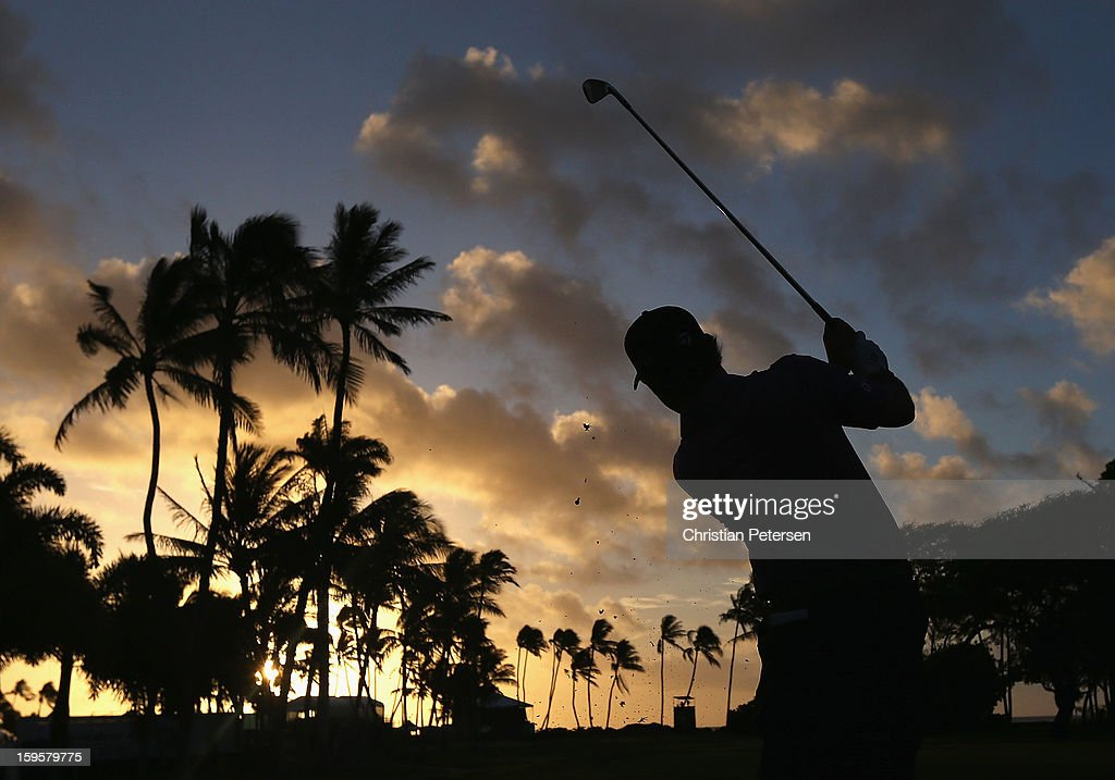 <a gi-track='captionPersonalityLinkClicked' href=/galleries/search?phrase=Brian+Harman&family=editorial&specificpeople=2286163 ng-click='$event.stopPropagation()'>Brian Harman</a> hits a tee shot on the 10th hole during the first round of the Sony Open in Hawaii at Waialae Country Club on January 10, 2013 in Honolulu, Hawaii.