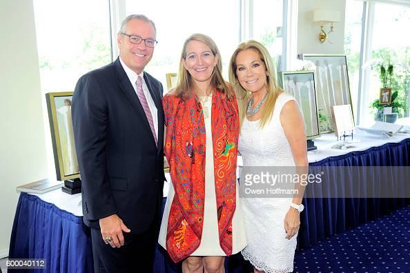 Brian Harrington Anne Neilson and Kathie Lee Gifford attend Angel Artist Anne Neilson Celebrity TV Host Kathie Lee Gifford and Jewelry Designer ReRe...