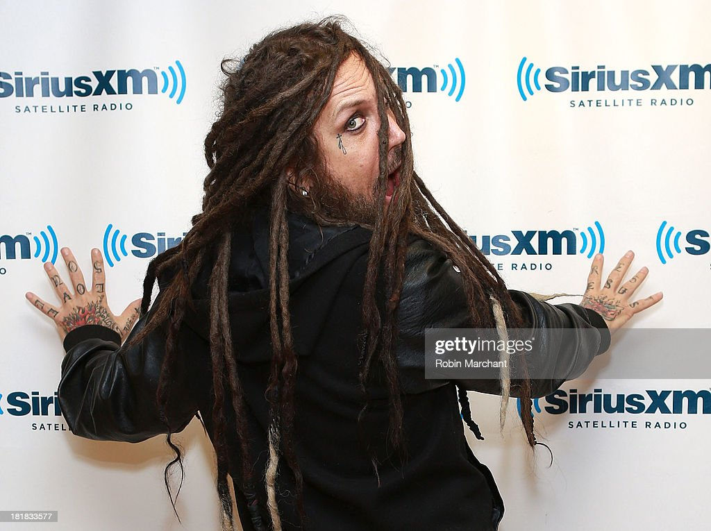 Brian 'Head' Welch of Korn visits SiriusXM Studios on September 25, 2013 in New York City.