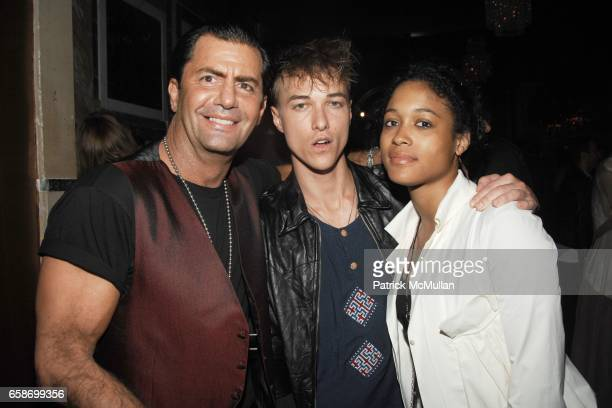 Brian Heir Vance Brooking and Tina Guest attend JD Ferguson Party at The Gates on June 4 2009 in New York City