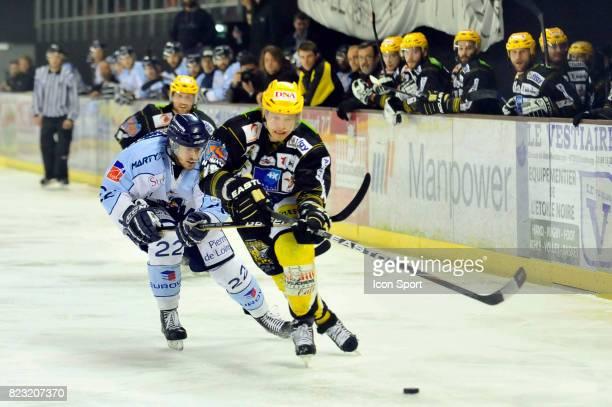 Brian HENDERSON / Pasi PETRILAINEN Strasbourg Etoile Noire / Ducs d Angers 1/2 Finale Play offs Ligue Magnus
