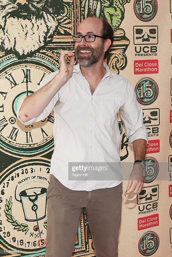 Brian Huskey attends The Upright Citizens Brigade Theatre Presents: The 15th Anniversary Del Close Improv at Upright Citizens Brigade Theatre on June 28, 2013 in New York City.