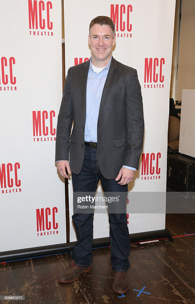 Brian Hutchison attends 'Smokefall' Press Preview at MTC Rehearsal Studios on January 7 2016 in New York City