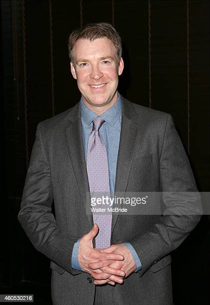 Brian Hutchison attends the Opening Night After Party for 'Pocatello' at Heartland Brewery on December 15 2014 in New York City