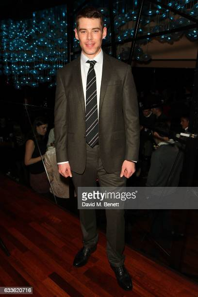 Brian J Smith arrives at the afterparty at DSTRKT following the press night performance of 'The Glass Menagerie' at The Duke Of York Theatre on...