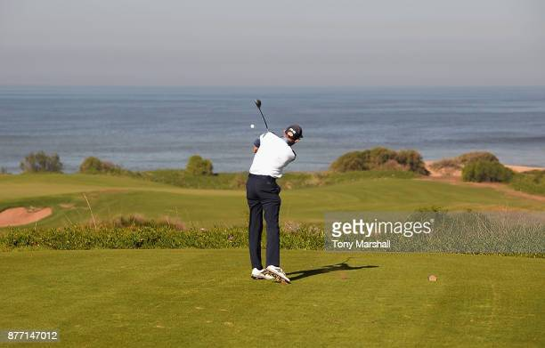 Brian Jamieson Captian of Airdrie Golf Club plays his first shot on the 15th tee during Day One of the SkyCaddie PGA ProCaptain Challenge Grand Final...