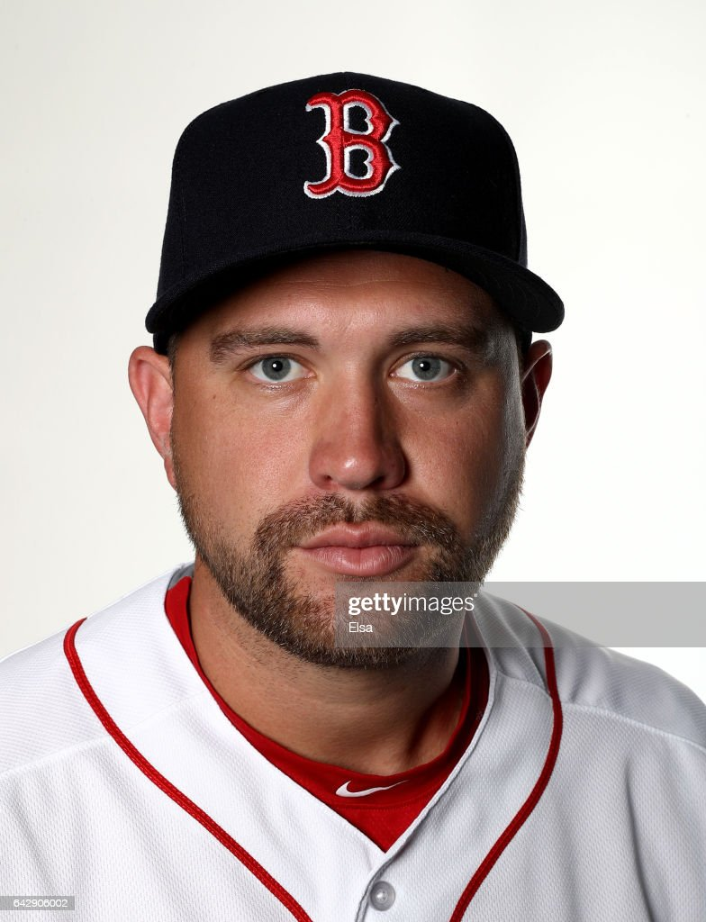 Brian Johnson #61 of the Boston Red Sox poses for a portrait during the Boston Red Sox photo day on February 19, 2017 at JetBlue Park in Ft. Myers, Florida.