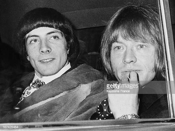 Brian Jones And Prince Stanislas Klossowski De Rola Arrested At London In United Kingdom On May 11St 1967