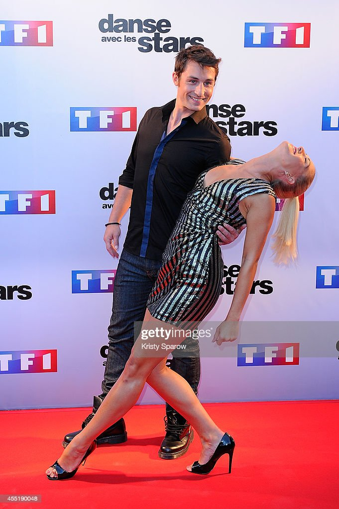 <a gi-track='captionPersonalityLinkClicked' href=/galleries/search?phrase=Brian+Joubert&family=editorial&specificpeople=213858 ng-click='$event.stopPropagation()'>Brian Joubert</a> and Katrina Patchett attend the 'Danse Avec Les Stars 2014' Photocall at TF1 on September 10, 2014 in Paris, France.