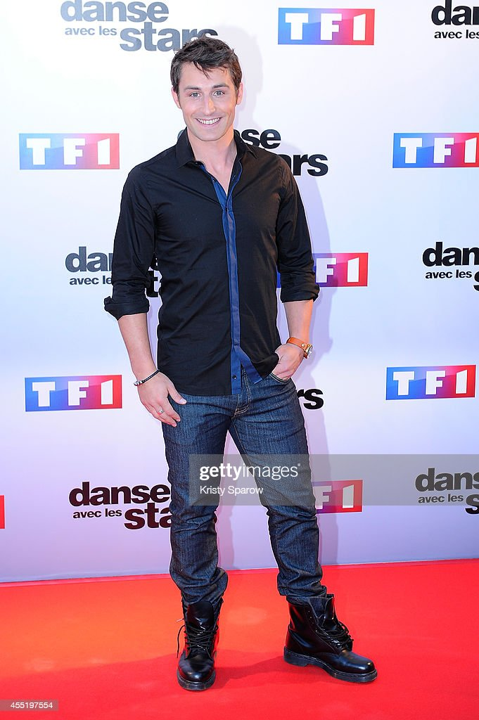 <a gi-track='captionPersonalityLinkClicked' href=/galleries/search?phrase=Brian+Joubert&family=editorial&specificpeople=213858 ng-click='$event.stopPropagation()'>Brian Joubert</a> attends the 'Danse Avec Les Stars 2014' Photocall at TF1 on September 10, 2014 in Paris, France.