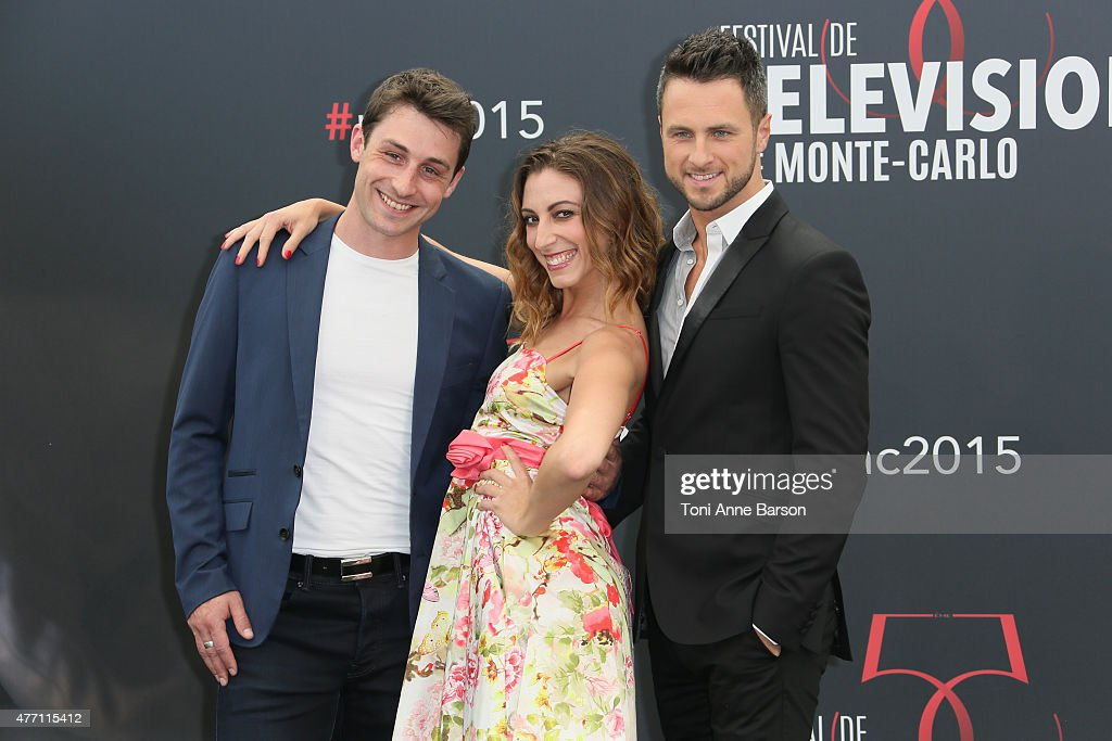 <a gi-track='captionPersonalityLinkClicked' href=/galleries/search?phrase=Brian+Joubert&family=editorial&specificpeople=213858 ng-click='$event.stopPropagation()'>Brian Joubert</a>, Silvia Notargiacomo and Christian Millette attend photocall for 'Dance with the Stars' at the Grimaldi Forum on June 14, 2015 in Monte-Carlo, Monaco.
