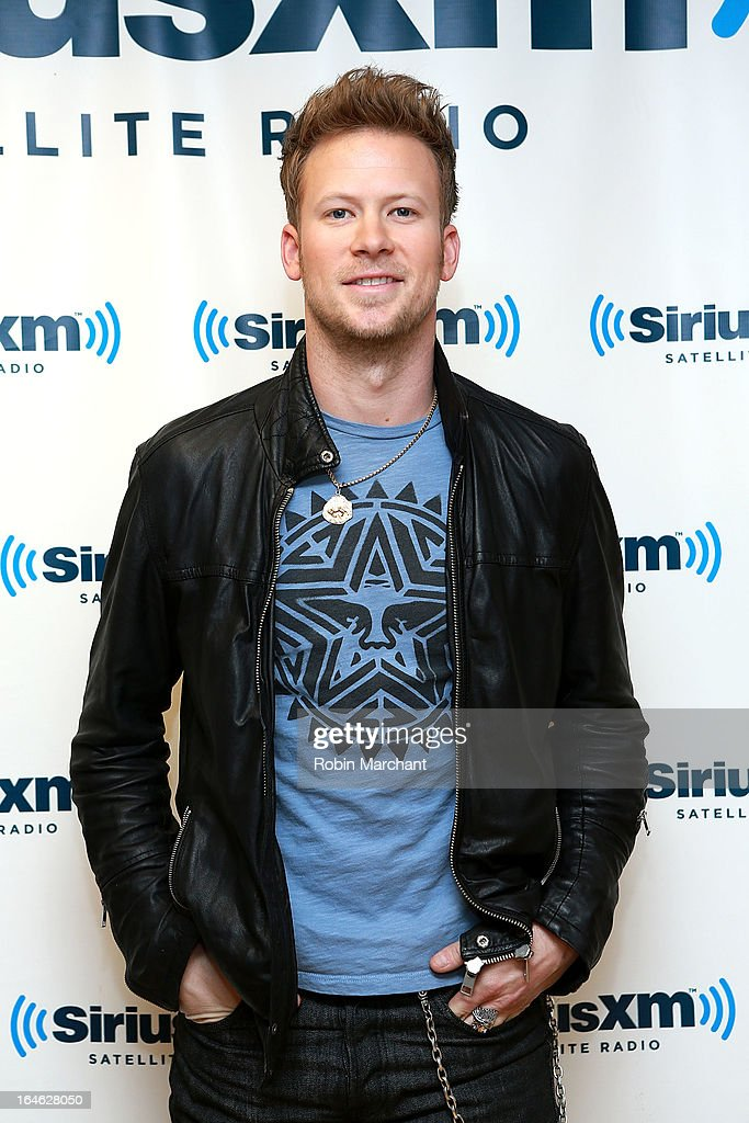 Brian Kelley of Florida Georgia Line visits at SiriusXM Studios on March 25, 2013 in New York City.