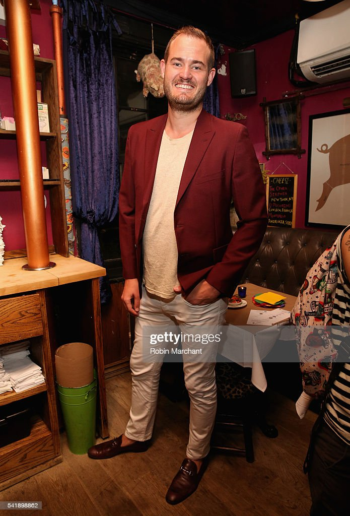 Brian Kelly attends American Express Launches National LGBTQ PRIDE Campaign To 'Express Love' at The Spotted Pig on June 20, 2016 in New York City.
