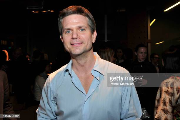 Brian Kelly attends FIRST BLOOM Art and Photography Auction to Benefit The FRIENDS OF THE HIGH LINE at Equinox on March 18 2010 in New York City