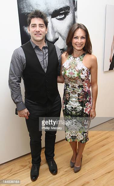Brian Kennedy and Sharon Corr attend the opening of photographer Barry McCall's Exhibition 'Pho20graphy' at The Copper House Gallery on May 15 2012...