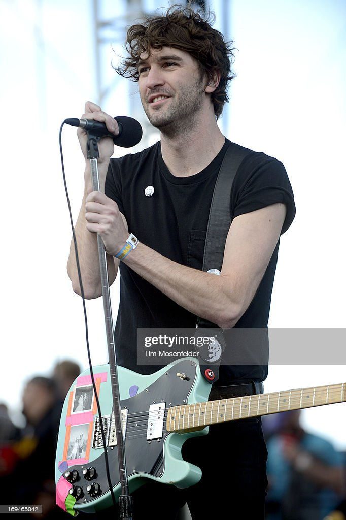 <a gi-track='captionPersonalityLinkClicked' href=/galleries/search?phrase=Brian+King+-+Musician+-+Japandroids&family=editorial&specificpeople=11006245 ng-click='$event.stopPropagation()'>Brian King</a> of Japandroids performs as part of the Day 1 of the Sasquatch! Music Festival at the Gorge Amphitheatre on May 24, 2013 in George, Washington.